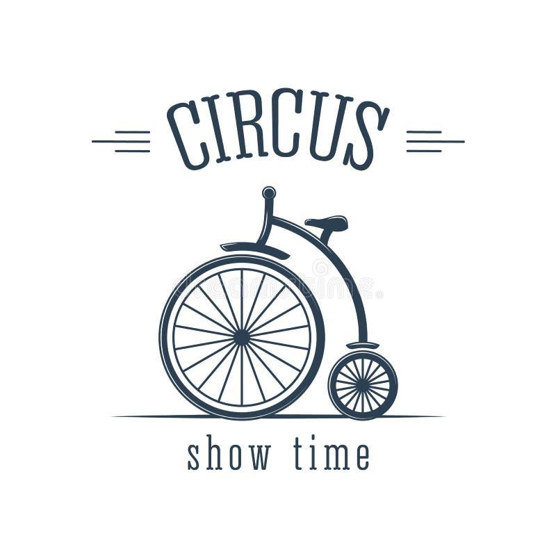 De circusprestaties, interessant vrolijk aantal, het cirkelen, kunstenaar voeren trucs uit vector illustratie