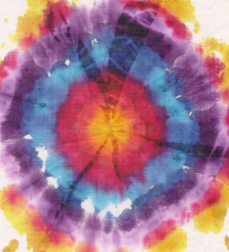 De cirkel van de batik stock afbeeldingen