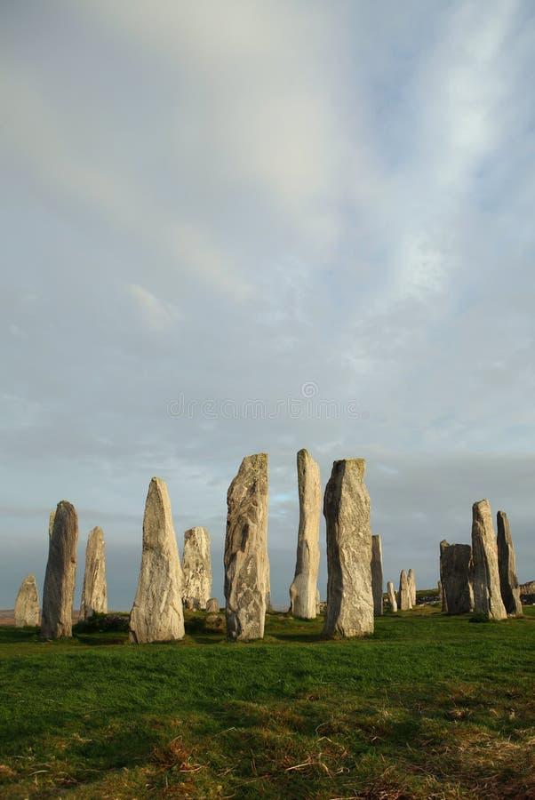 De Cirkel van de steen royalty-vrije stock afbeelding