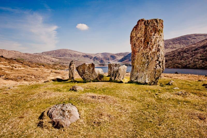 De cirkel van de steen, Ierland stock fotografie