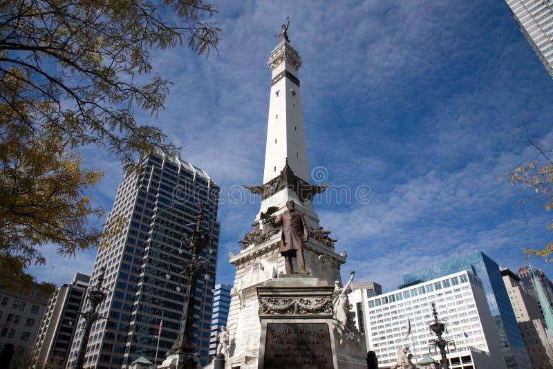 De Cirkel van het monument stock foto's