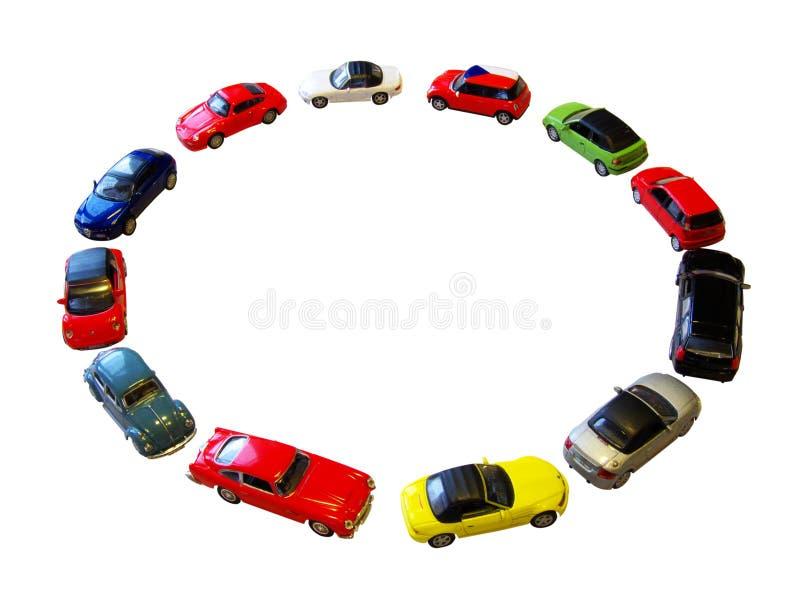 De cirkel van het stuk speelgoed royalty-vrije stock afbeeldingen