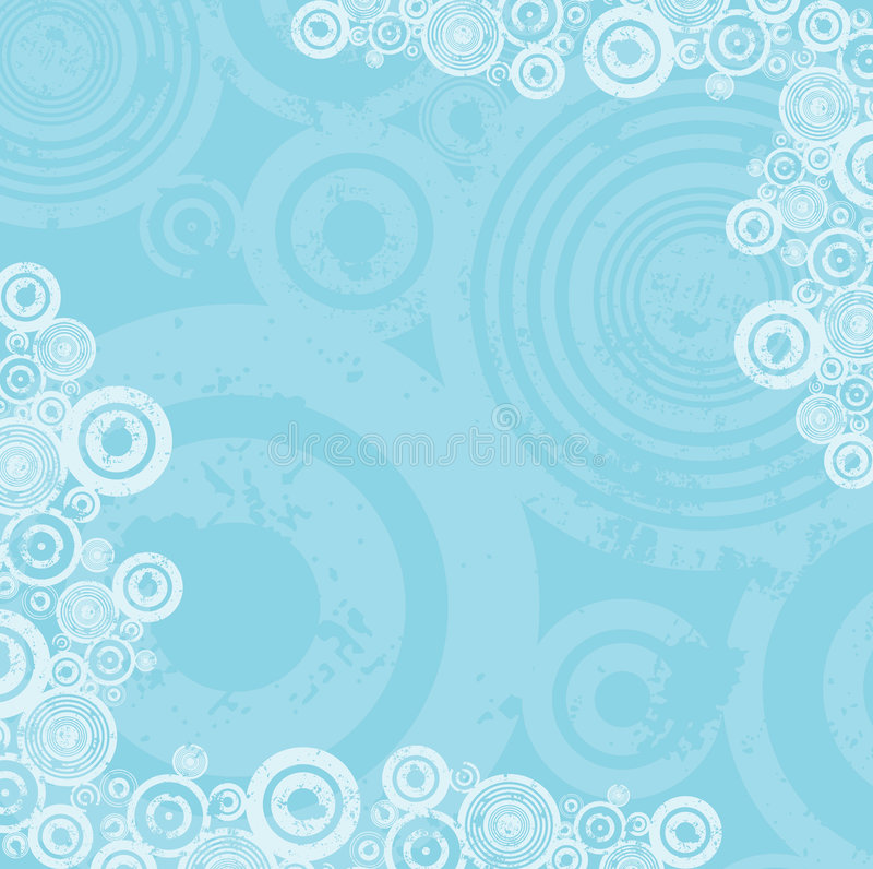 De cirkelachtergrond van Grunge stock illustratie
