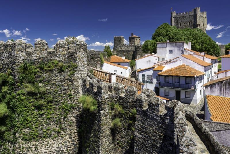 De citadel, Braganca, Portugal stock afbeelding
