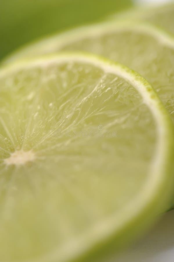De citroen van de kalk stock foto's