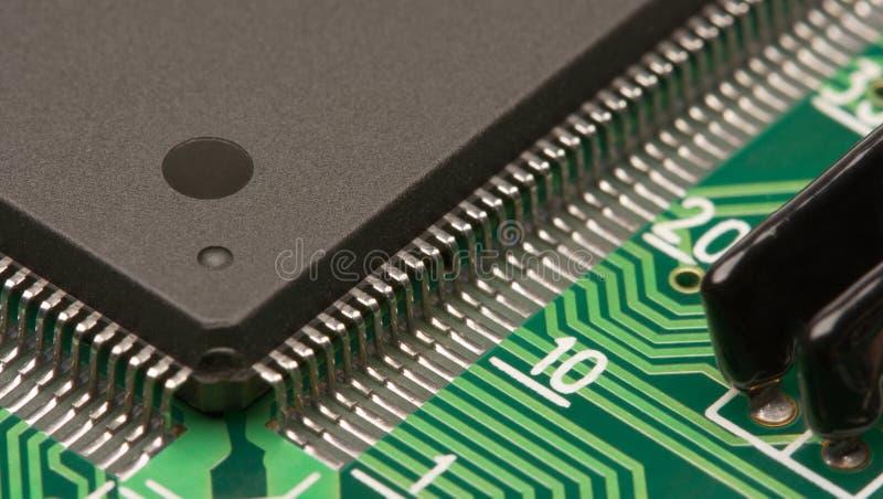 De close-up van de elektronika royalty-vrije stock afbeelding