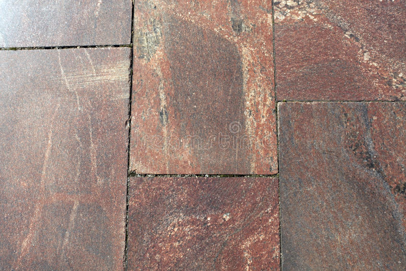 De close-up van de granietbestrating royalty-vrije stock foto