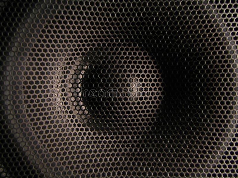 De close-up van de luidspreker stock afbeelding