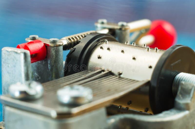 De Close-up Van De Muziekdoos Stock Afbeelding
