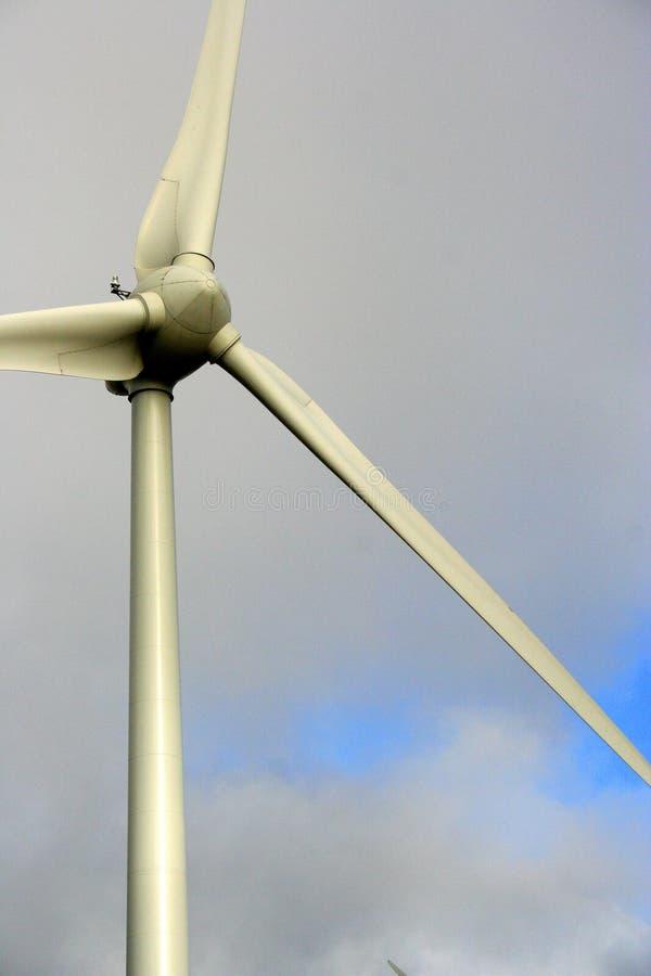 De Close-up van de Turbine van de wind stock foto's