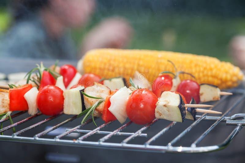 De close-up van de voedselstok royalty-vrije stock foto