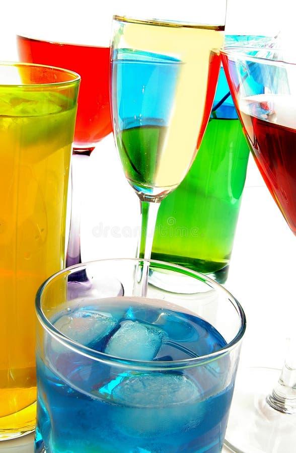 De close-up van dranken stock fotografie