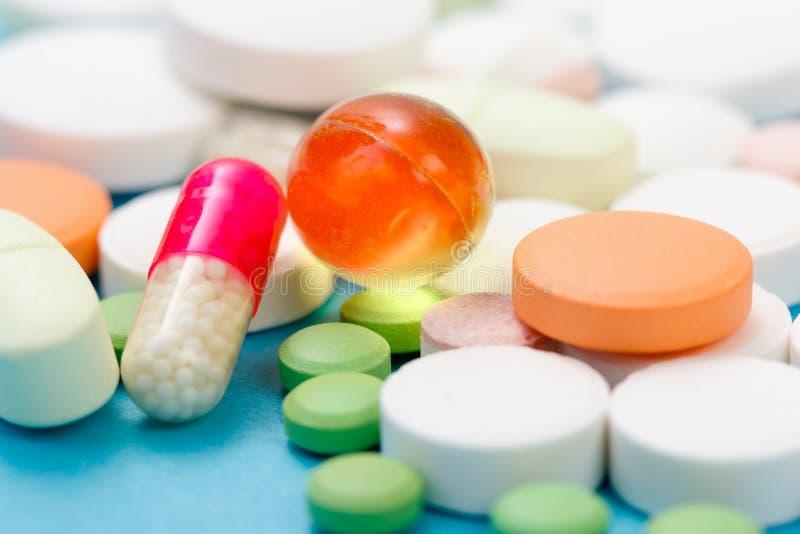 De Close-up van drugs royalty-vrije stock afbeeldingen