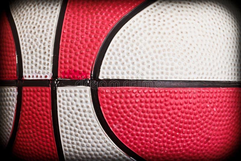 De close-up van het basketbal royalty-vrije stock fotografie