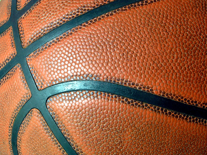 Download De Close-up Van Het Basketbal Stock Foto - Afbeelding: 43708