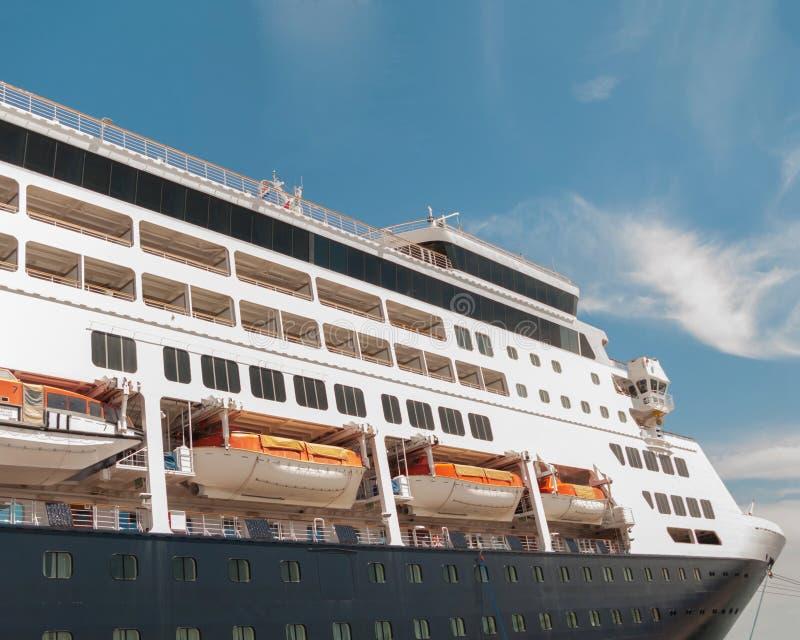 De close-up van het cruiseschip royalty-vrije stock foto