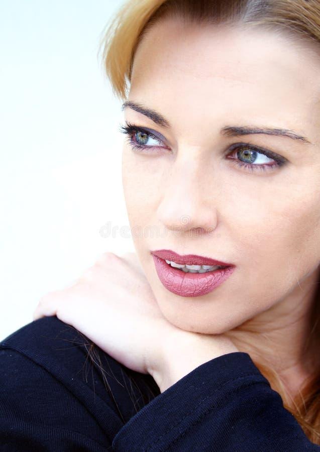 De close-up van het gezicht royalty-vrije stock foto