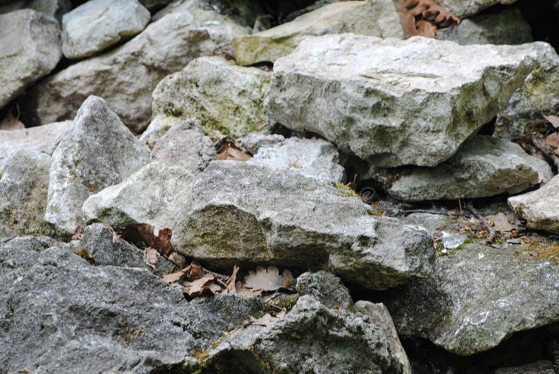De Close-up van stenen De textuur van de steen stock illustratie