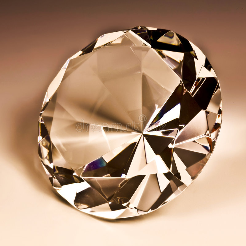 De close-upmetafoor 01 van diamanten stock foto