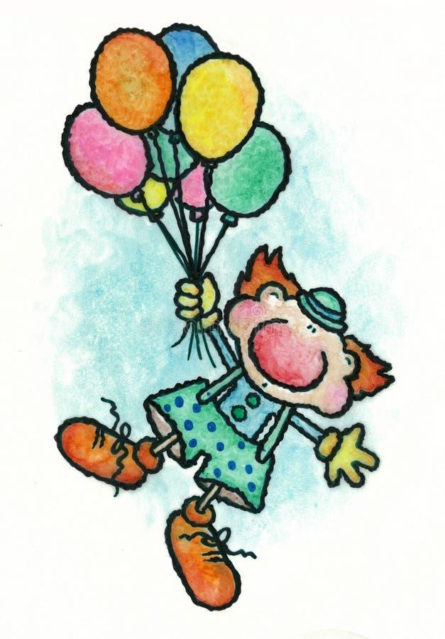 De clown vector illustratie