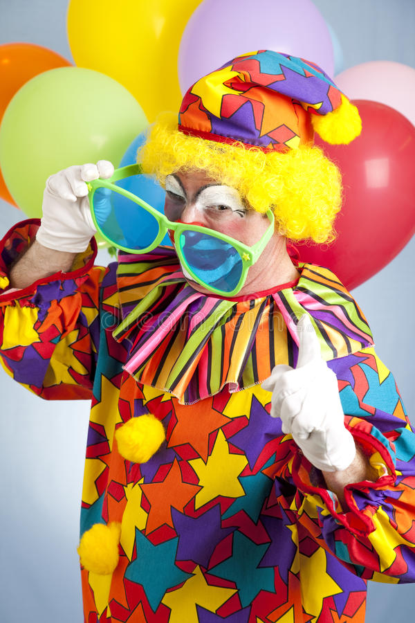De Clown van Hip Hop royalty-vrije stock foto