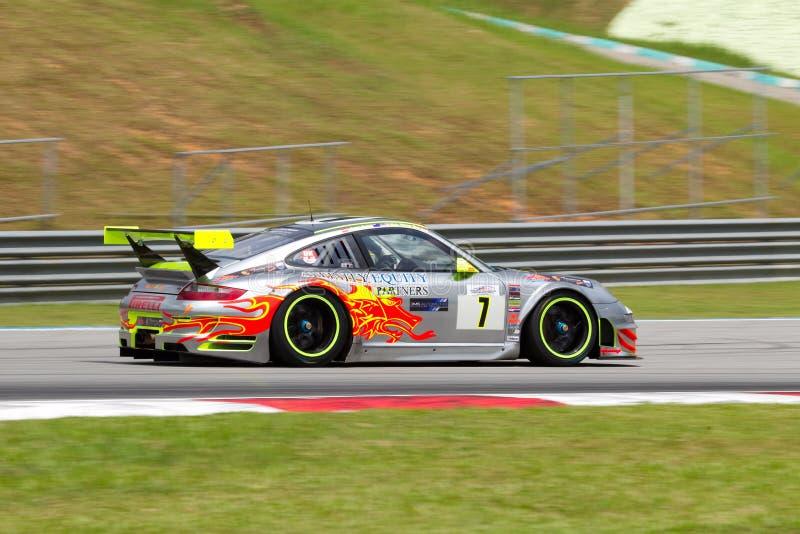 De Club Van Porsche Het Rennen Het Rasmalaysi Van De Merdekaduurzaamheid Redactionele Fotografie