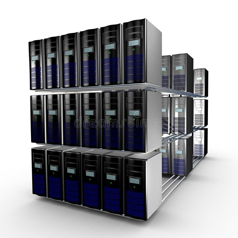 De cluster van de computer