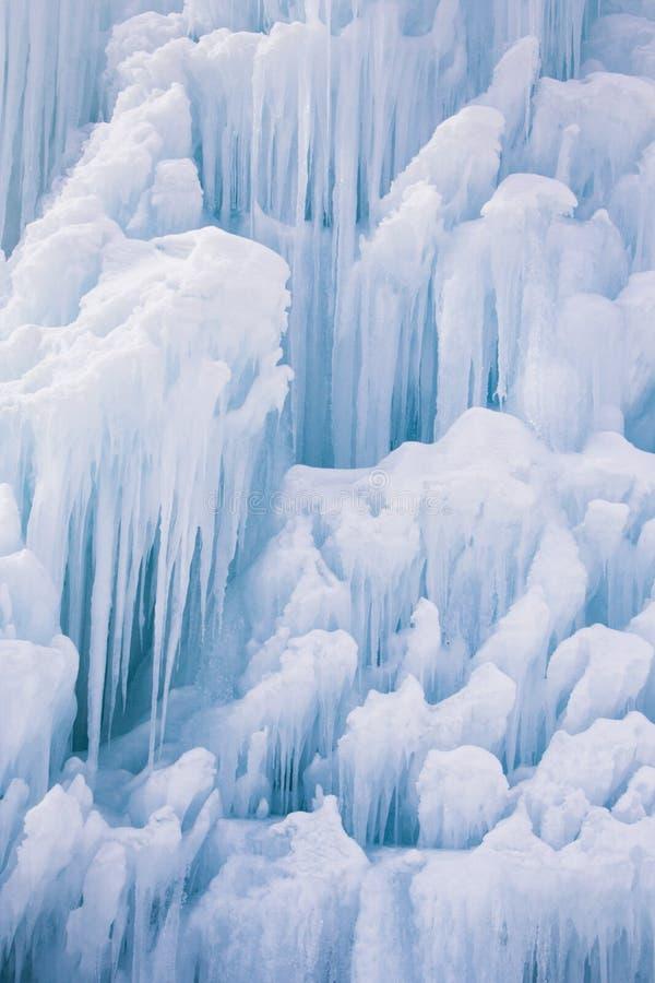 De Cluster van de ijskegel stock afbeelding