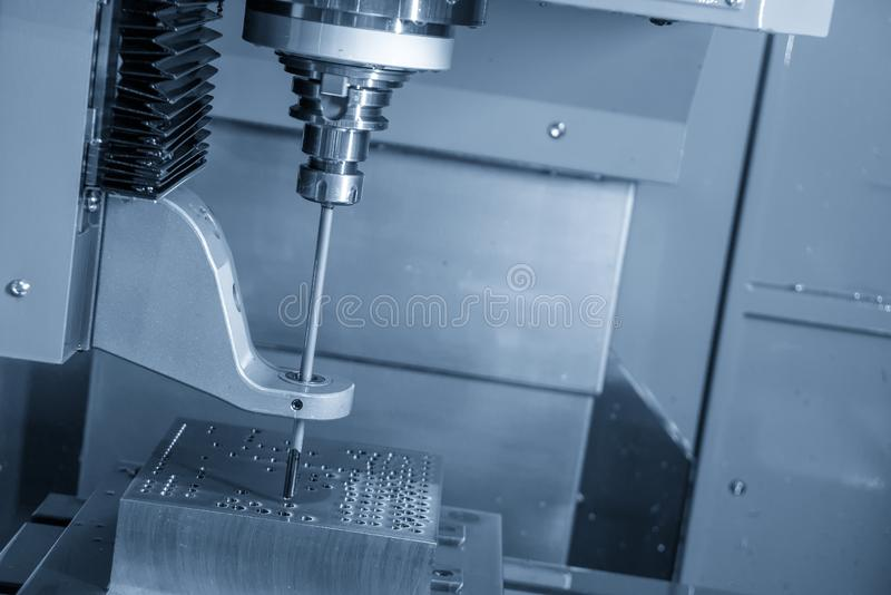 De CNC machine die van de kanonboor diep gat boren royalty-vrije stock foto