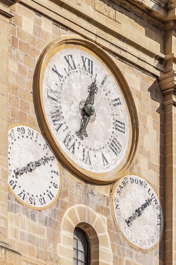 De co-Kathedraal van heilige John in Valletta, Malta stock afbeelding