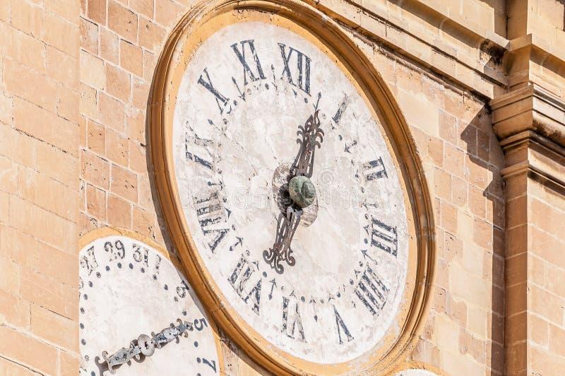 De co-Kathedraal van heilige John in Valletta, Malta stock foto