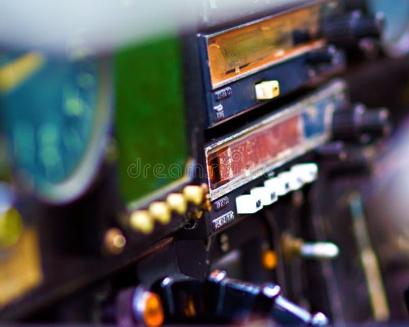 De Cockpit van de bommenwerper royalty-vrije stock afbeelding