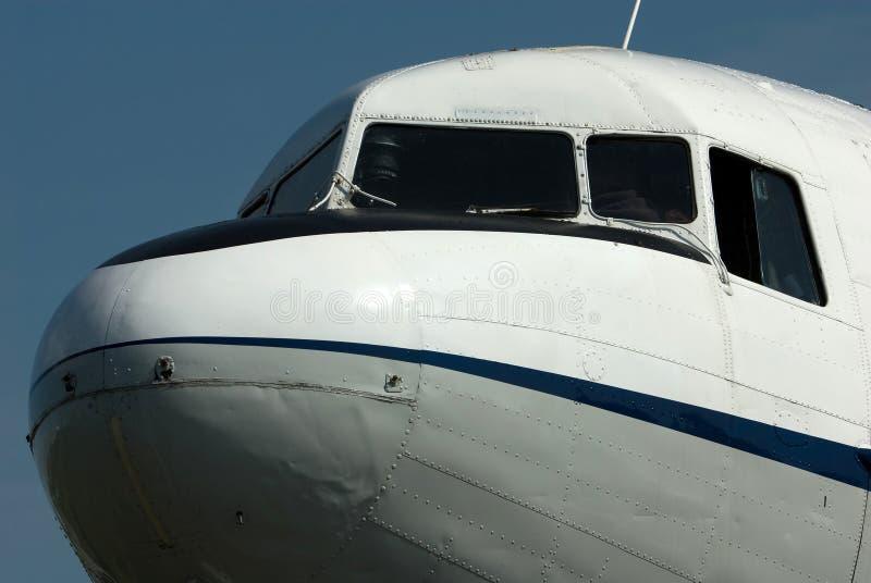 De Cockpit van Douglas DC2 stock afbeeldingen