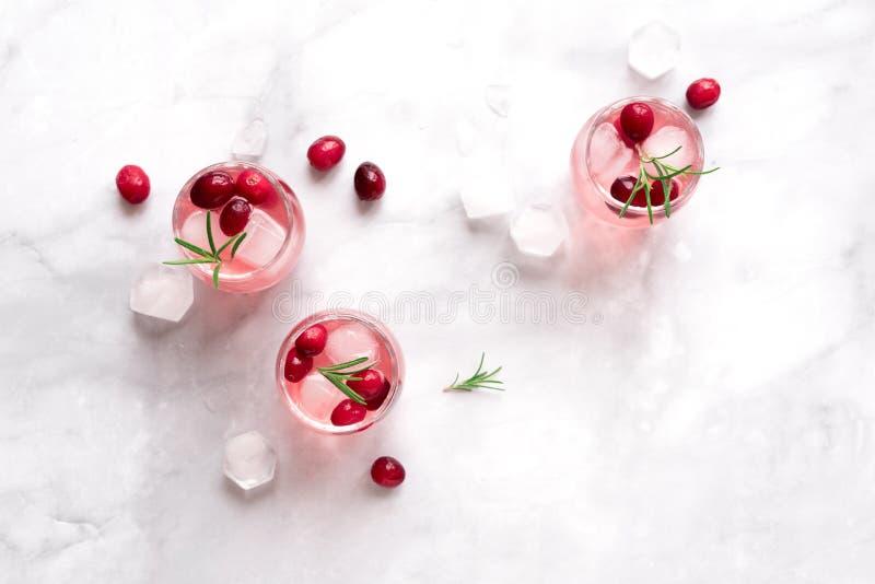 De Cocktail van de Amerikaanse veenbeswodka royalty-vrije stock afbeelding
