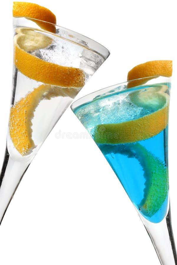 De Cocktail van de Draai van de citroen royalty-vrije stock foto