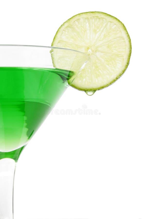 De Cocktail van de kalk royalty-vrije stock afbeeldingen
