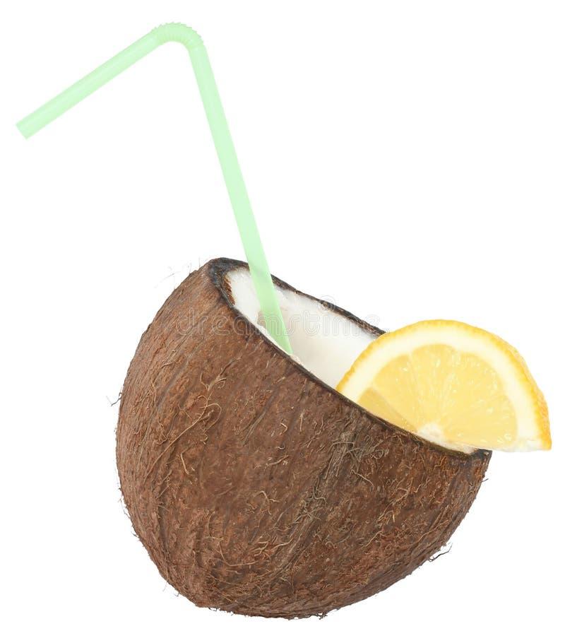 De cocktail van de kokosnoot royalty-vrije stock foto