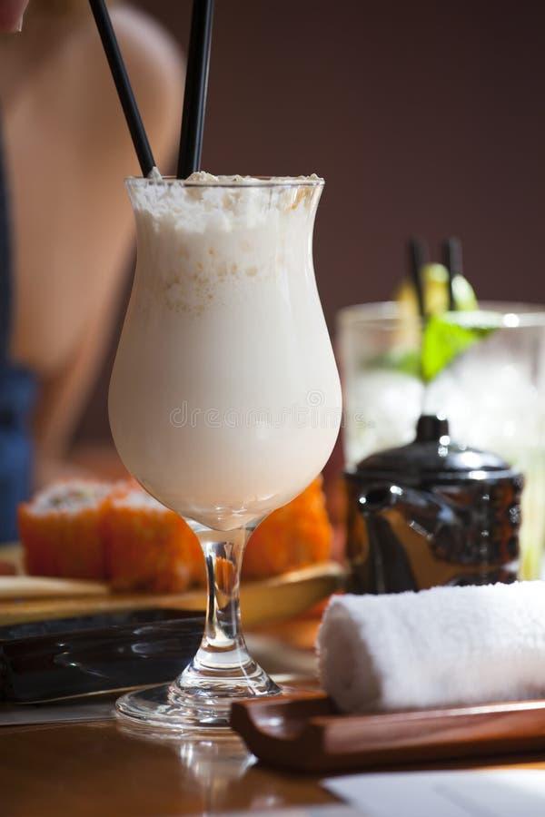 De cocktail van de melk royalty-vrije stock afbeeldingen