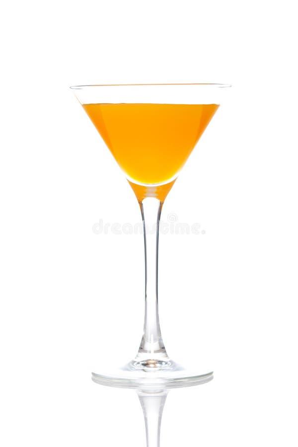 De cocktail van de perzik stock afbeeldingen