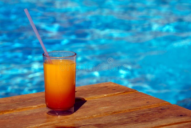 De cocktail van de pool royalty-vrije stock afbeeldingen