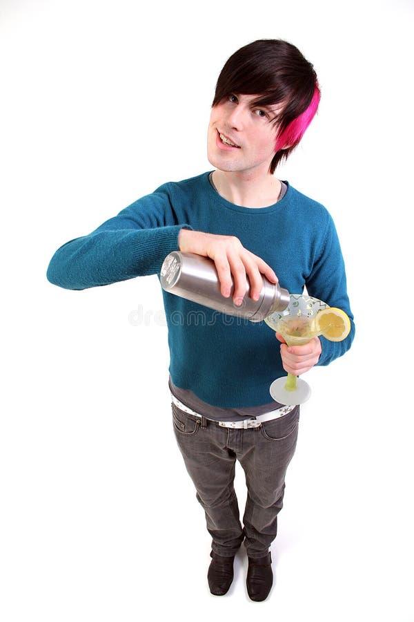 De cocktail van de tiener stock foto