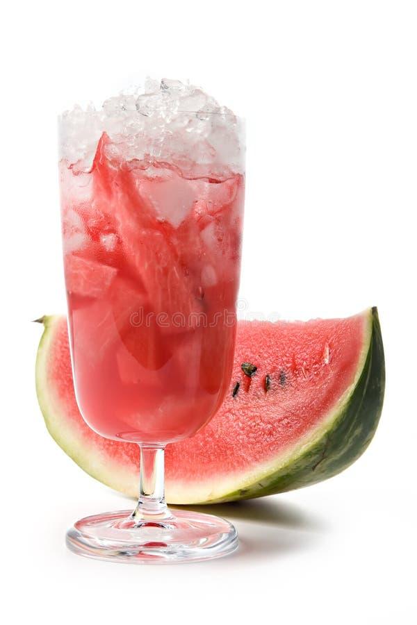 De cocktail van de watermeloen royalty-vrije stock fotografie