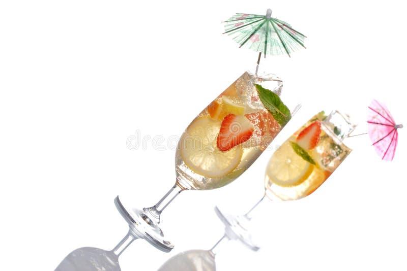 De cocktail van het fruit royalty-vrije stock afbeeldingen