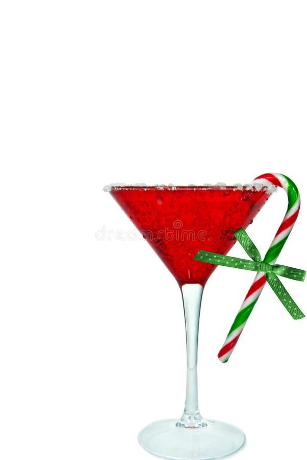 De Cocktail van het Riet van het suikergoed royalty-vrije stock afbeeldingen