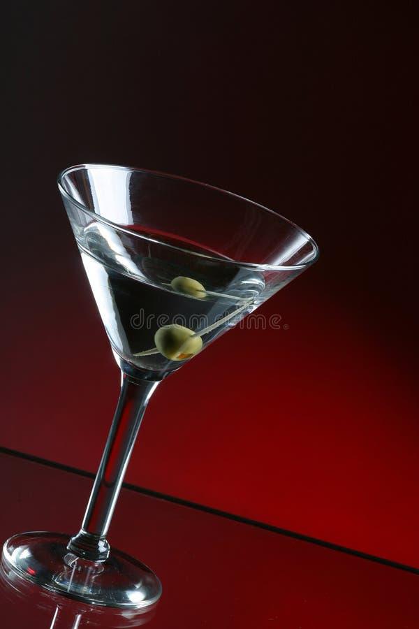 De Cocktail Van Martini Stock Foto