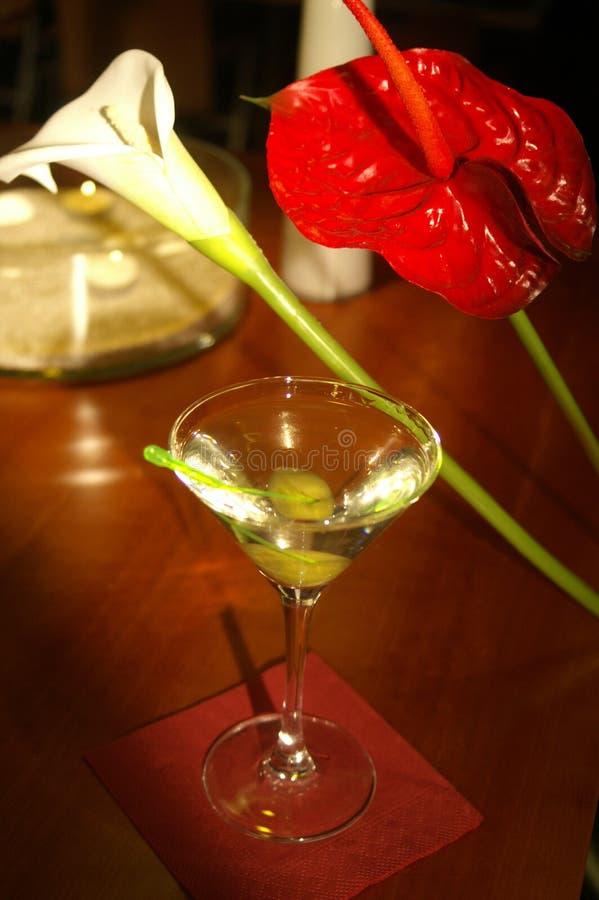De Cocktail van martini stock afbeeldingen