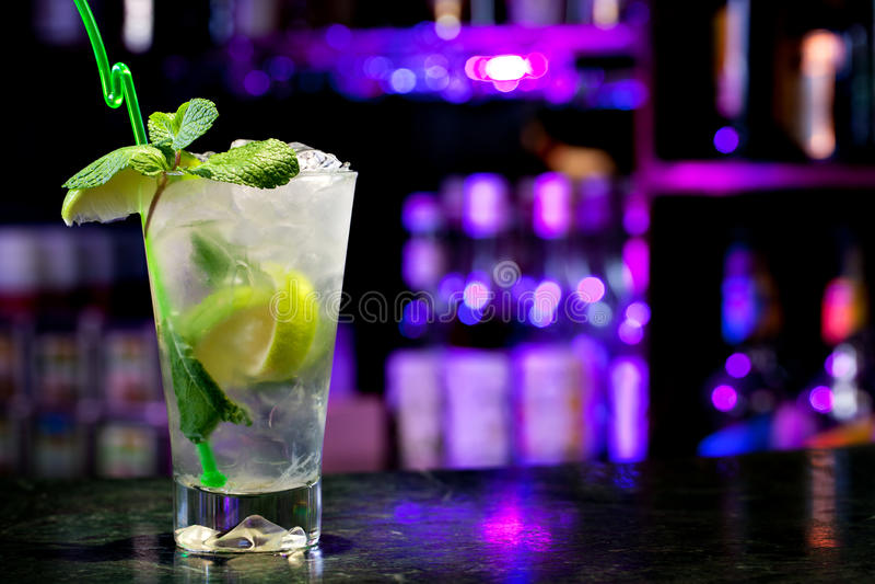 De cocktail van Mojito royalty-vrije stock foto's