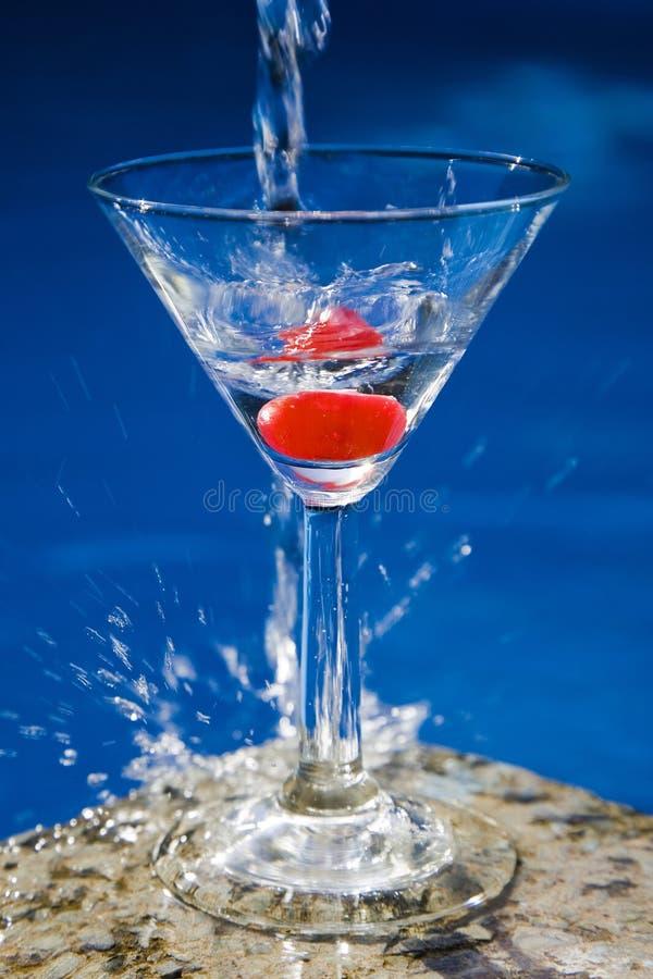 De Cocktail van Poolside royalty-vrije stock afbeelding