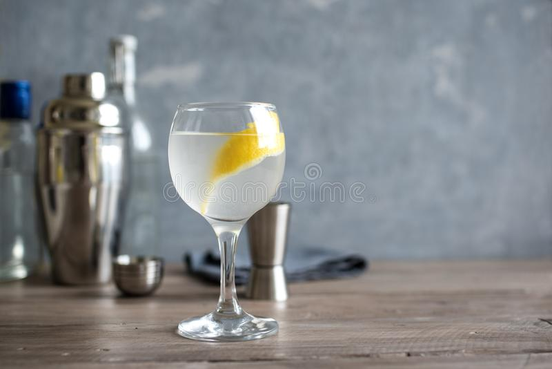 De Cocktail van Vespermartini royalty-vrije stock foto's