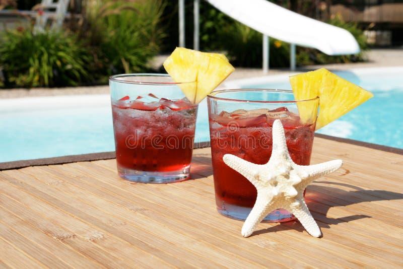 De cocktails van de zomer stock afbeelding